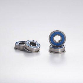 Flange ball bearings